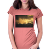 Storm Clouds of Gold Womens Fitted T-Shirt