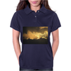 Storm Clouds of Gold Womens Polo