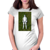 Storm trooper under the sun Womens Fitted T-Shirt