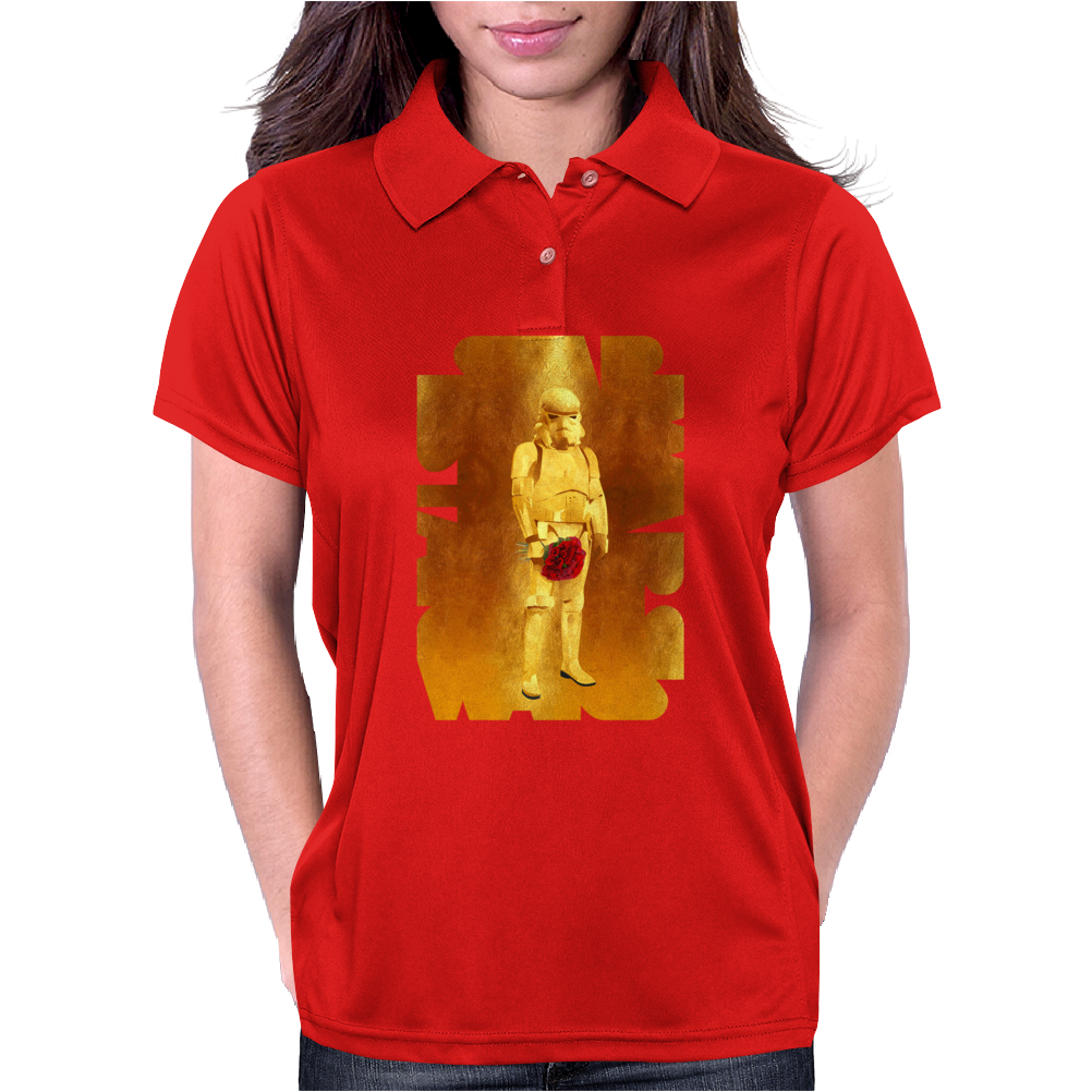 Stormtrooper Gold Edition Womens Polo