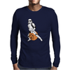 Stormtrooper On A Spacehopper Mens Funny Star Wars Mens Long Sleeve T-Shirt