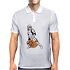 Stormtrooper On A Spacehopper Mens Funny Star Wars Mens Polo