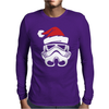 STORMTROOPER Santa Funny Christmas Star Wars Mens Long Sleeve T-Shirt