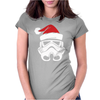 STORMTROOPER Santa Funny Christmas Star Wars Womens Fitted T-Shirt