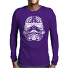 Stormtrooper Sugar Skull Mens Long Sleeve T-Shirt