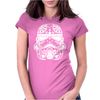 Stormtrooper Sugar Skull Womens Fitted T-Shirt