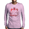 Straight Edge - Alcohol Sucks!! Mens Long Sleeve T-Shirt
