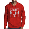 Straight Outta Add Your Text Mens Hoodie