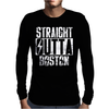 STRAIGHT OUTTA BOSTON Mens Long Sleeve T-Shirt