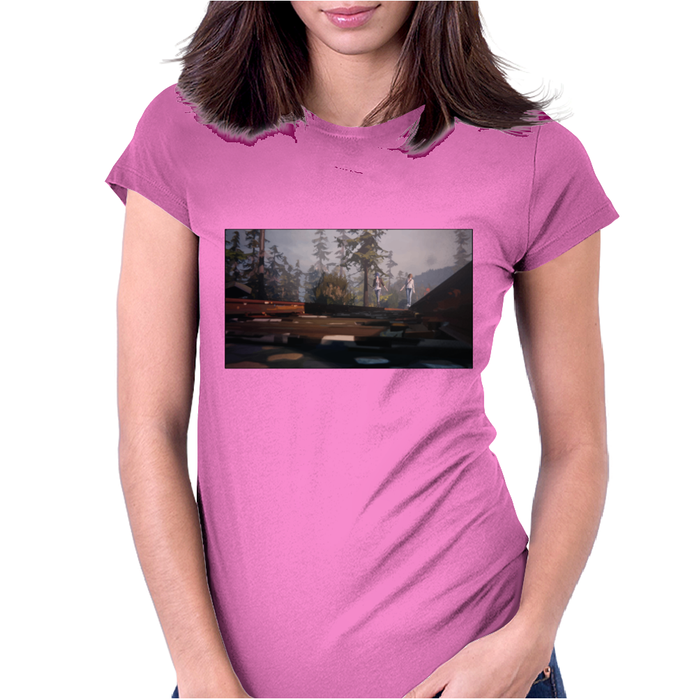 strange Womens Fitted T-Shirt