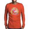 Strawberry Cake Mens Long Sleeve T-Shirt