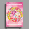 Strawberry Cake Poster Print (Portrait)