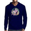 Strawberry Cake Watercolor Mens Hoodie