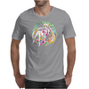 Strawberry Cake Watercolor Mens T-Shirt