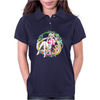 Strawberry Cake Watercolor Womens Polo