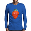 strawberry Mens Long Sleeve T-Shirt