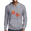 Strawberry pattern Mens Hoodie