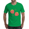 Strawberry pattern Mens T-Shirt