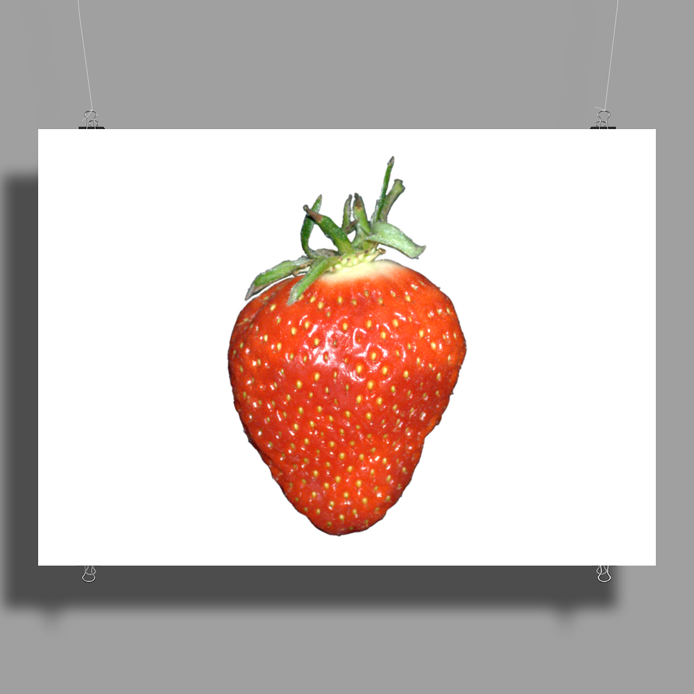 strawberry Poster Print (Landscape)