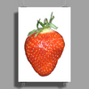 strawberry Poster Print (Portrait)
