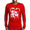 Strawberry Switchblade Pop Rock New Wave Mens Long Sleeve T-Shirt