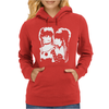 Strawberry Switchblade Pop Rock New Wave Womens Hoodie