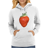 strawberry Womens Hoodie