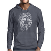 Stripped Face Mens Hoodie