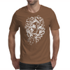 Stripped Face Mens T-Shirt