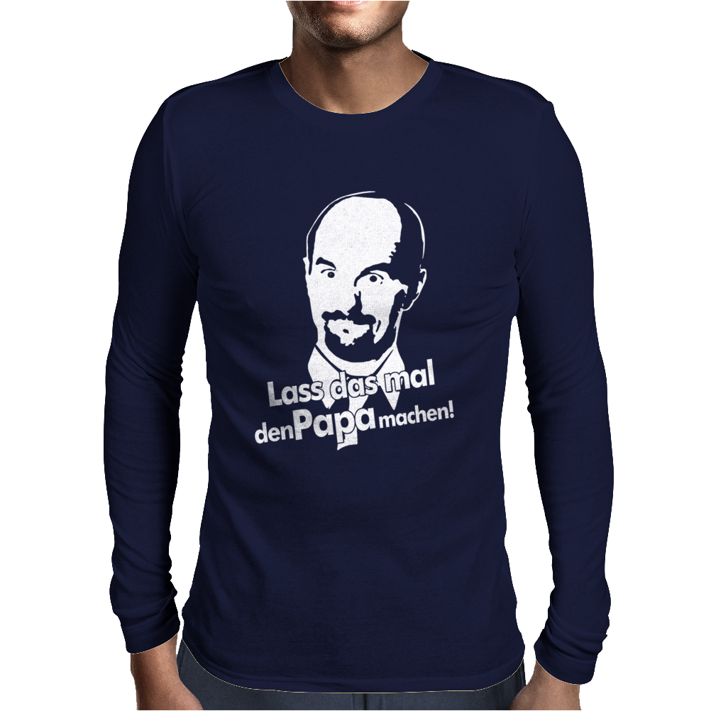 Stromberg Lustig Kult Nerd Retro Mens Long Sleeve T-Shirt