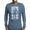 Strong Power Force Mens Long Sleeve T-Shirt