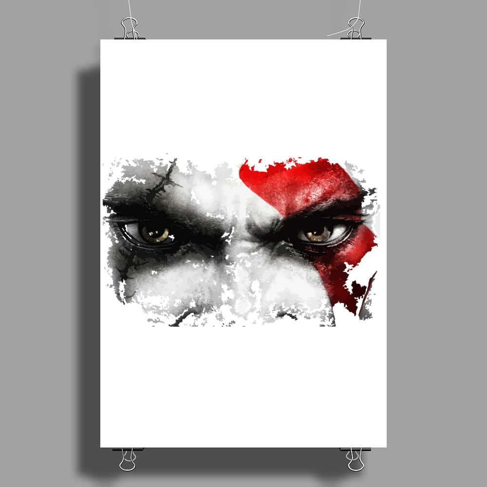 strong warrior Poster Print (Portrait)