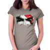 strong warrior Womens Fitted T-Shirt