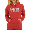 Study RUST ON THE ROSE Womens Hoodie