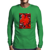 Stunning Red Maple Leaf Painting Mens Long Sleeve T-Shirt