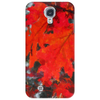 Stunning Red Maple Leaf Painting Phone Case