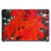 Stunning Red Maple Leaf Painting Tablet (horizontal)