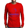 Stylish Retro Hawaiian Airlines Mens Long Sleeve T-Shirt