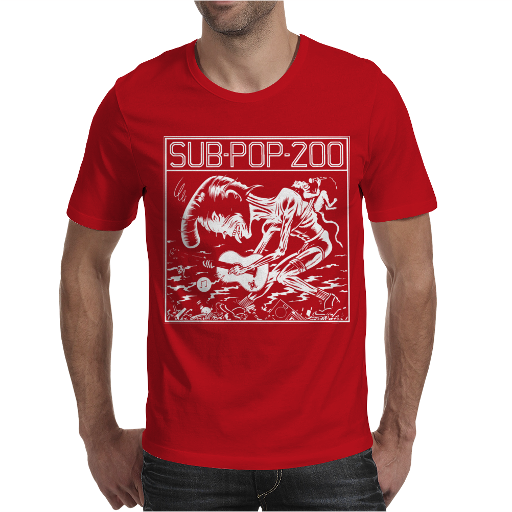 Sub Pop 200 Mens T-Shirt