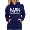 Sub Pop Records Womens Hoodie
