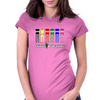 Suburban Power Rangers Womens Fitted T-Shirt