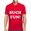 Such Fun V - Nec Funny toke comedy Miranda fancy dress Mens Polo