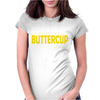 Suck It Up Buttercup Womens Fitted T-Shirt