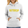 Suck It Up Buttercup Womens Hoodie