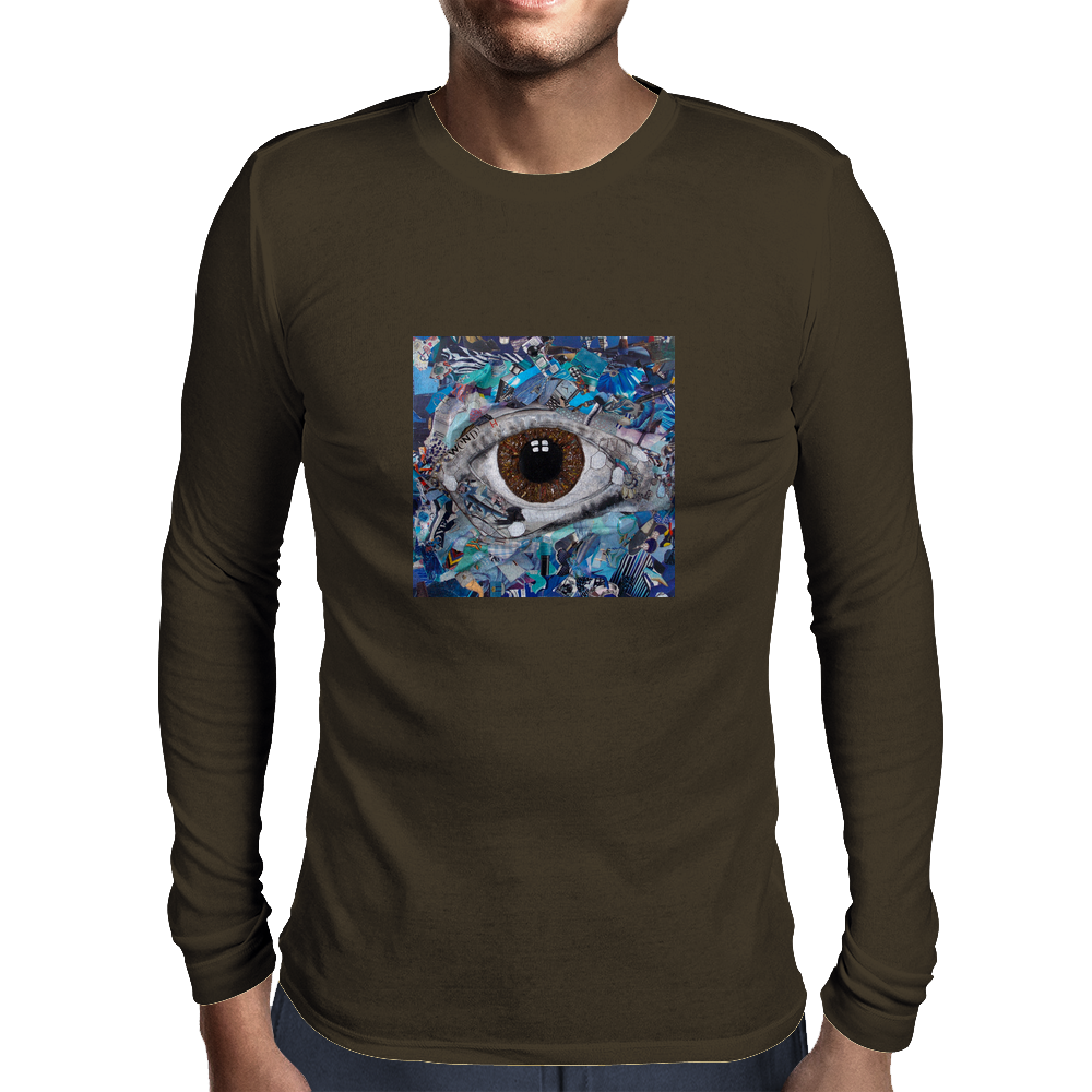 Sucked in blue Mens Long Sleeve T-Shirt