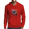 Sucked in red Mens Hoodie