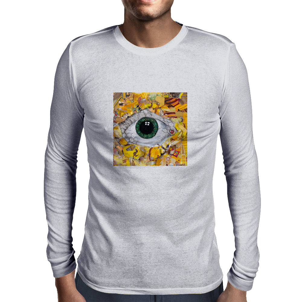 Sucked in yellow Mens Long Sleeve T-Shirt