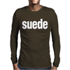 SUEDE new Mens Long Sleeve T-Shirt
