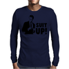 Suit Up Mens Long Sleeve T-Shirt