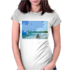 Summer Day Womens Fitted T-Shirt
